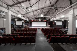 Eventhall Karlsruhe bietet Platz für bis zu 500 Menschen.